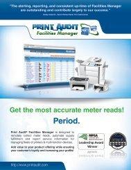 Facilities Manager Brochure - Print Audit