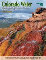 Theme: Groundwater - Colorado State University