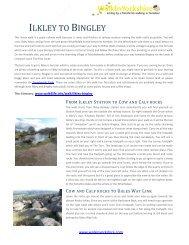 Walk - Ilkley to Bingley - Walk4Life