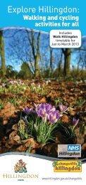 Explore Hillingdon led walks and cycle rides Jan - March ... - Walk4Life