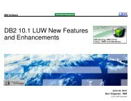 DB2 10.1 LUW New Features and Enhancements - neodbug