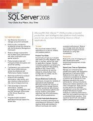 SQL Server 2008 - neodbug