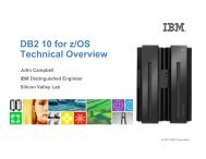 DB2 10 for z/OS Technical Overview - neodbug