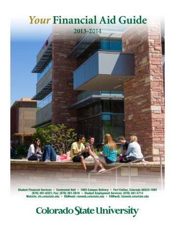 Your Financial Aid Guide - Colorado State University