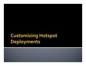 Customizing Hotspot Deployments - MUM - MikroTik
