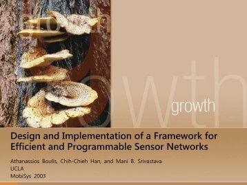 Design and Implementation of a Framework for Efficient and ...