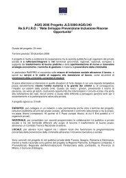 Breve presentazione del progetto (file.pdf) - Europa facile