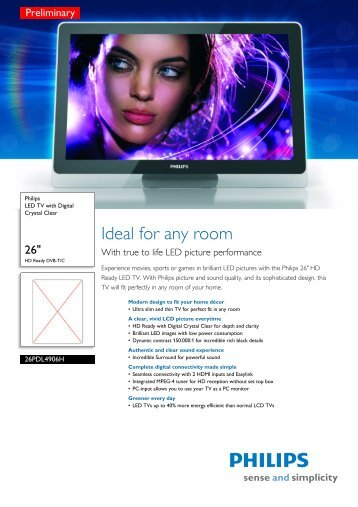 PHILIPS 26PDL4906H12 LED TV WINDOWS 7 DRIVERS DOWNLOAD (2019)