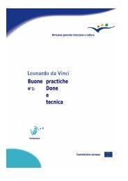 L'aggiornamento delle conoscenze e delle competenze ... - Europa