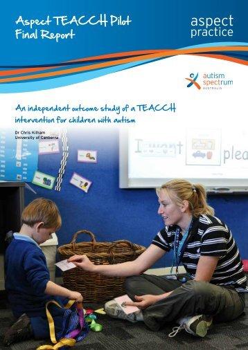 Aspect-TEACCH-pilot-final-report-web
