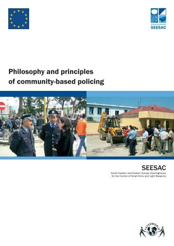 Philosophy and principles of community-based policing - Saferworld