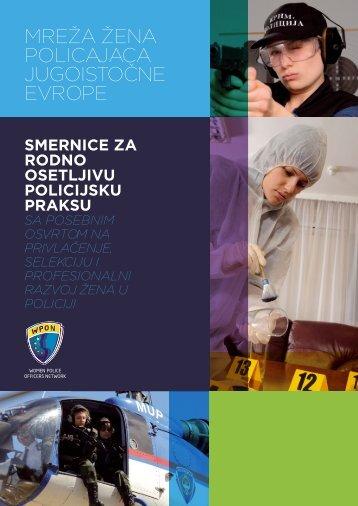 smernice za rodno osetljivu policijsku praksu - seesac