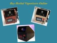 Buy Herbal Vaporizers Online