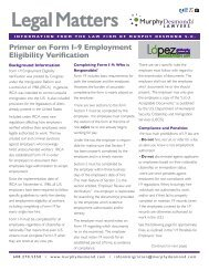 Form I-9 Employment Eligibility Verification
