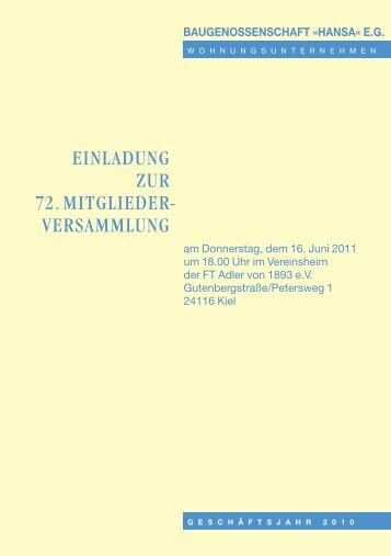 Download (PDF-Datei 7.5 MB) - baugenossenschaft hansa eg