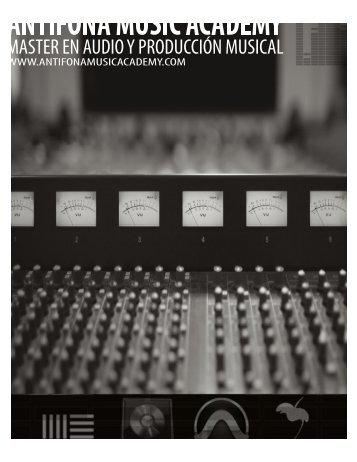 Antifona Music Academy Pensum