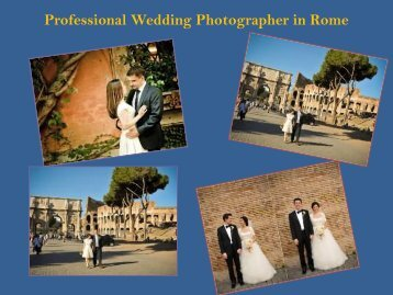 Professional Wedding Photographer in Rome