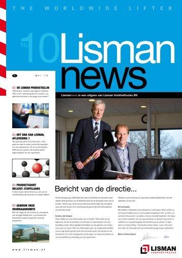 Bericht van de directie... - Lisman