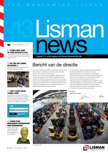 Bericht van de directie - Lisman