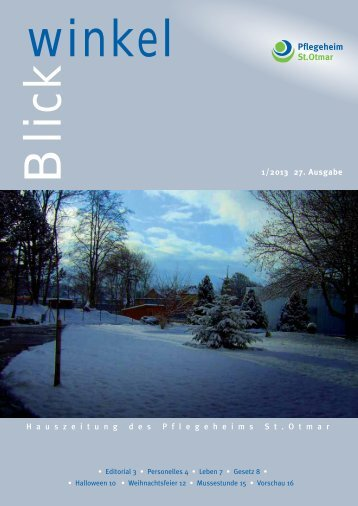 Blickwinkel 1 2013.pdf - Pflegeheim St.Otmar