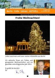 Berlinbrief Ausgabe 5/2011 - Henning Otte, MdB