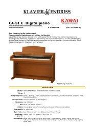 Digitalpiano CA 51 C - Klavier Endriss
