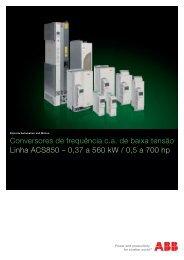 Linha ACS850 - APE Distribuidor ABB