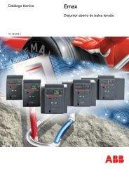 Catálogo técnico Disjuntor aberto de baixa tensão - Abb