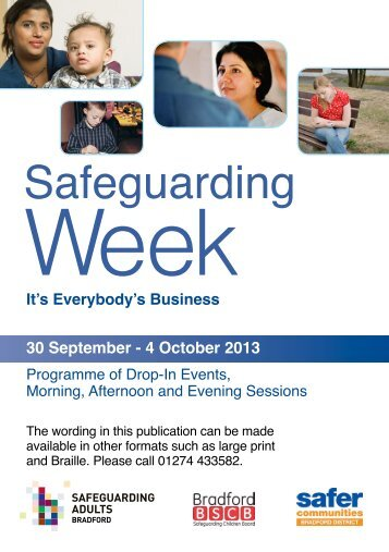 a PDF programme with details of all events - Bradford Safeguarding ...