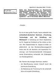 """Rede anlässlich des Seminars """"Forschung ... - Freller, Karl"""