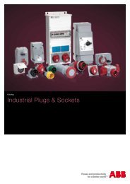 Industrial Plugs & Sockets - APE Distribuidor ABB