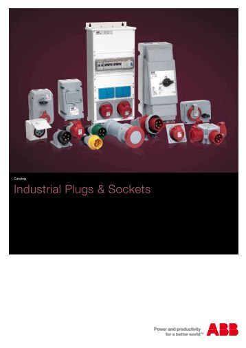 Industrial Plugs & Sockets - APE Distribuidor ABB