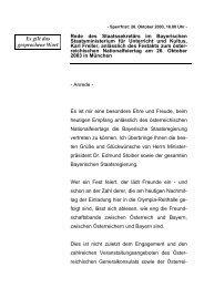 Rede anlässlich des Festakts zum österreichischen ... - Freller, Karl
