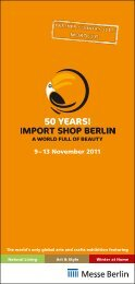 50 YEARS! - Import Shop Berlin