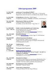 Jahresprogramm 2009 - KKV-Beckum