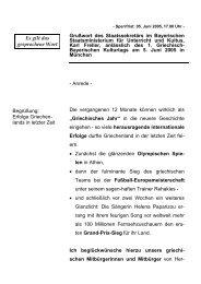 Grußwort anlässlich des 1. Griechisch-Bayerischen ... - Freller, Karl