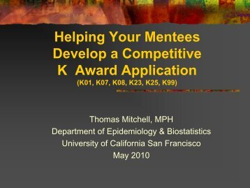 view as PDF - Accelerate - University of California, San Francisco