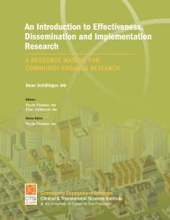 An Introduction to Effectiveness, Dissemination and ... - Accelerate