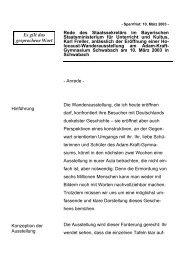 Rede anlässlich der Eröffnung einer Holocaust ... - Freller, Karl