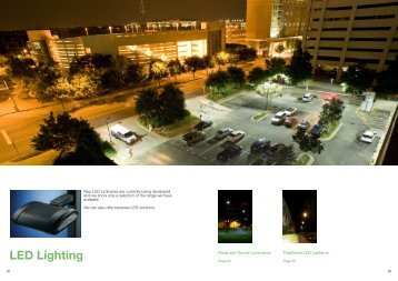 LED Lighting - CU Phosco