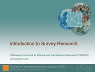 Introduction to Survey Research - Accelerate