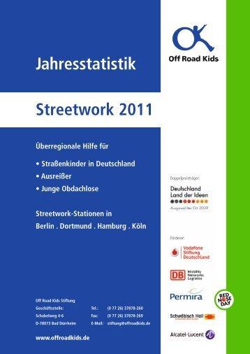 jahresstatistik_streetwork_2011.pdf - Off Road Kids e.V