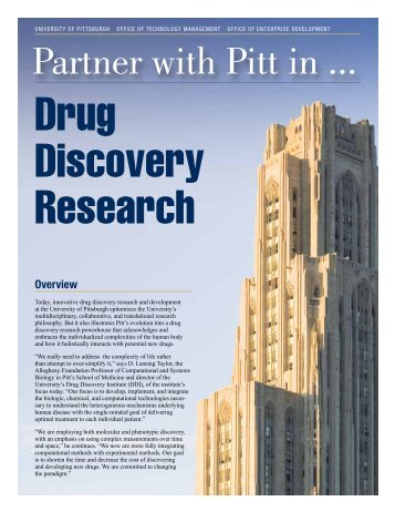 Drug Discovery Research - Innovation Commercialization