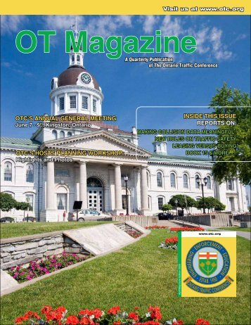 2009 - Spring Issue - Ontario Traffic Conference