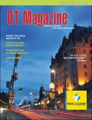 Summer Issue - Ontario Traffic Conference