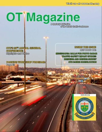 OT Magazine - Ontario Traffic Conference