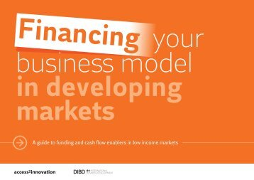 in developing markets - access2innovation