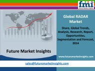 RADAR Market - Global Industry Analysis and Opportunity Assessment 2014 - 2020: Future Market Insights