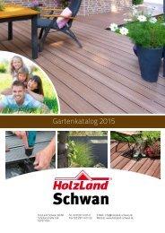 Gartenkatalog 2015 HolzLand Schwan in Köln