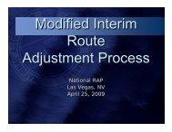 NALC RAP Session MIARAP Presentation April 2009